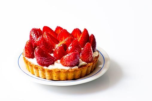 Ecrivain et écrivant - Tarte aux fraises